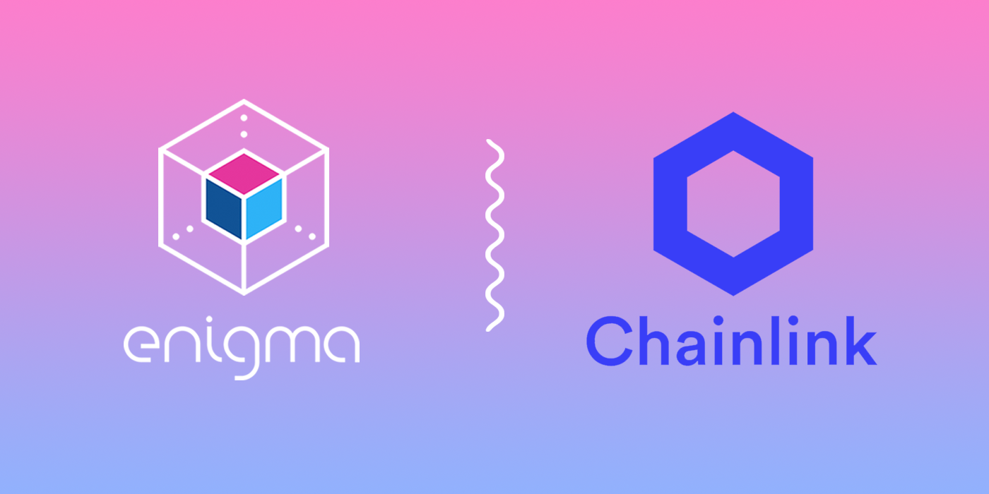Enigma and Chainlink Announce Collaboration and Integration   by ...
