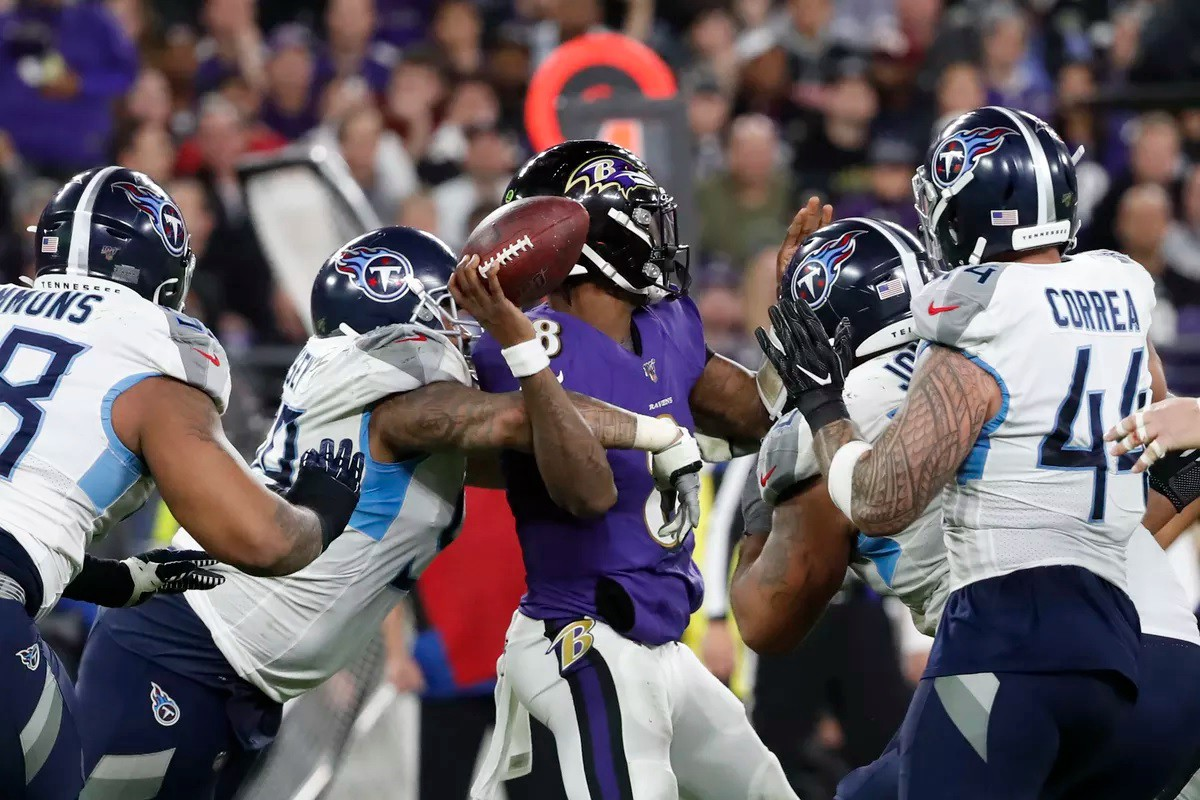 The Tennessee Titans ended Lamar Jackson and the Baltimore Ravens' dream season a year ago. What happens in the rematch?