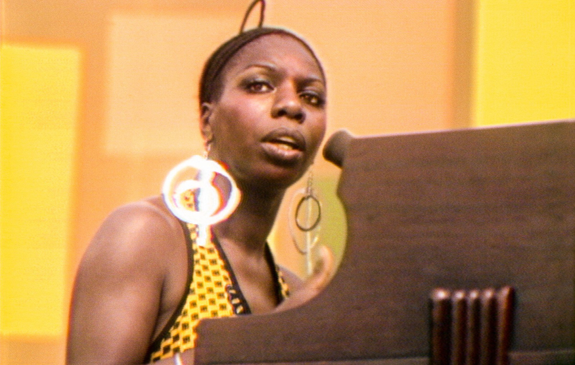Nina Simone performs in the documentary 'Summer of Soul'