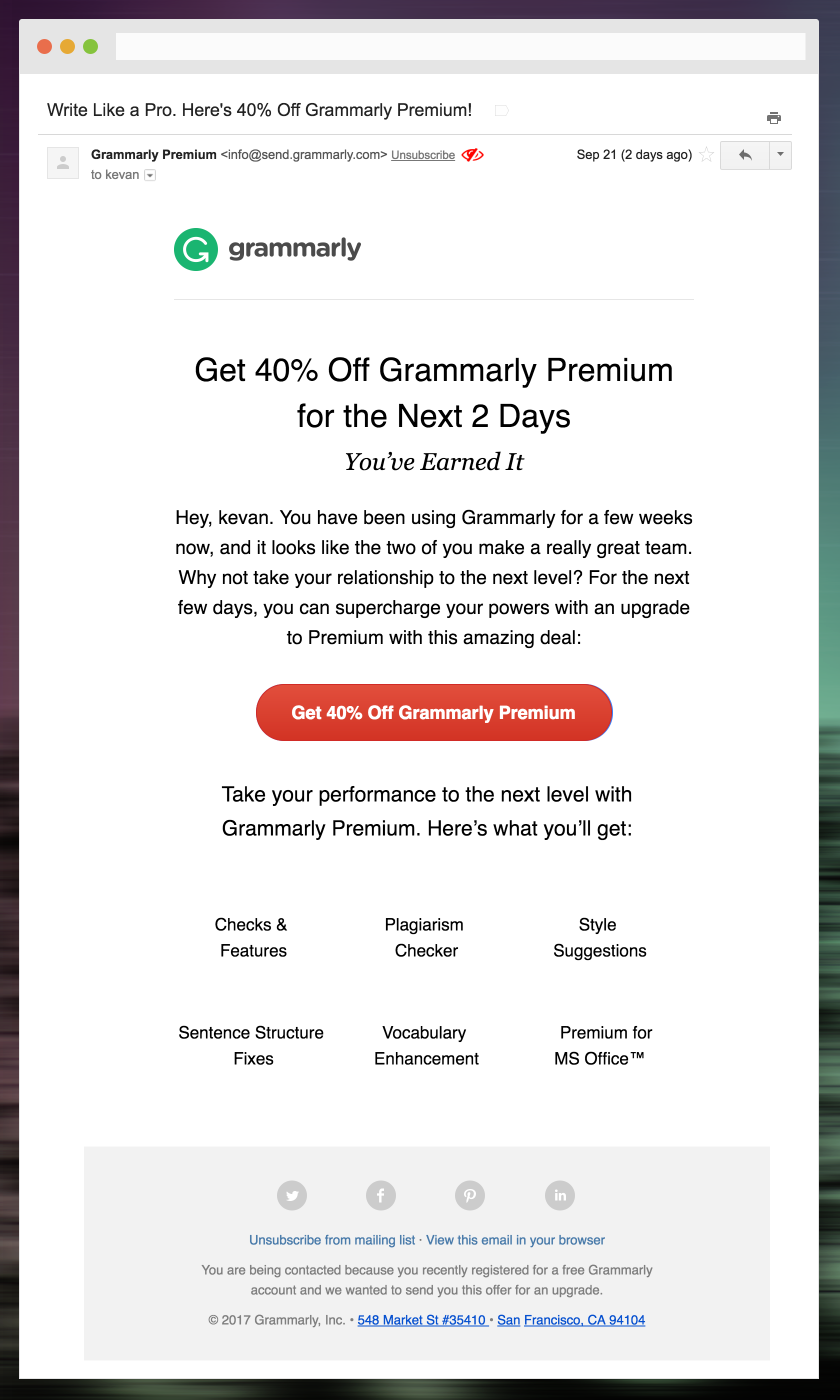 How Grammarly sends onboarding email - Aloha — Welcome Emails - Medium
