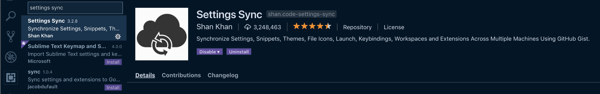 Take Your VS Code Configuration Anywhere Easily with Settings Sync