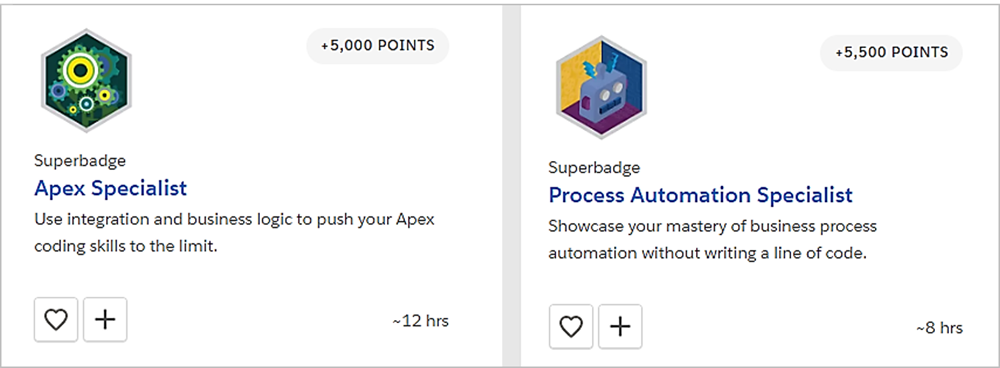 Two Superbadges You Need to Be a Super Salesforce Developer