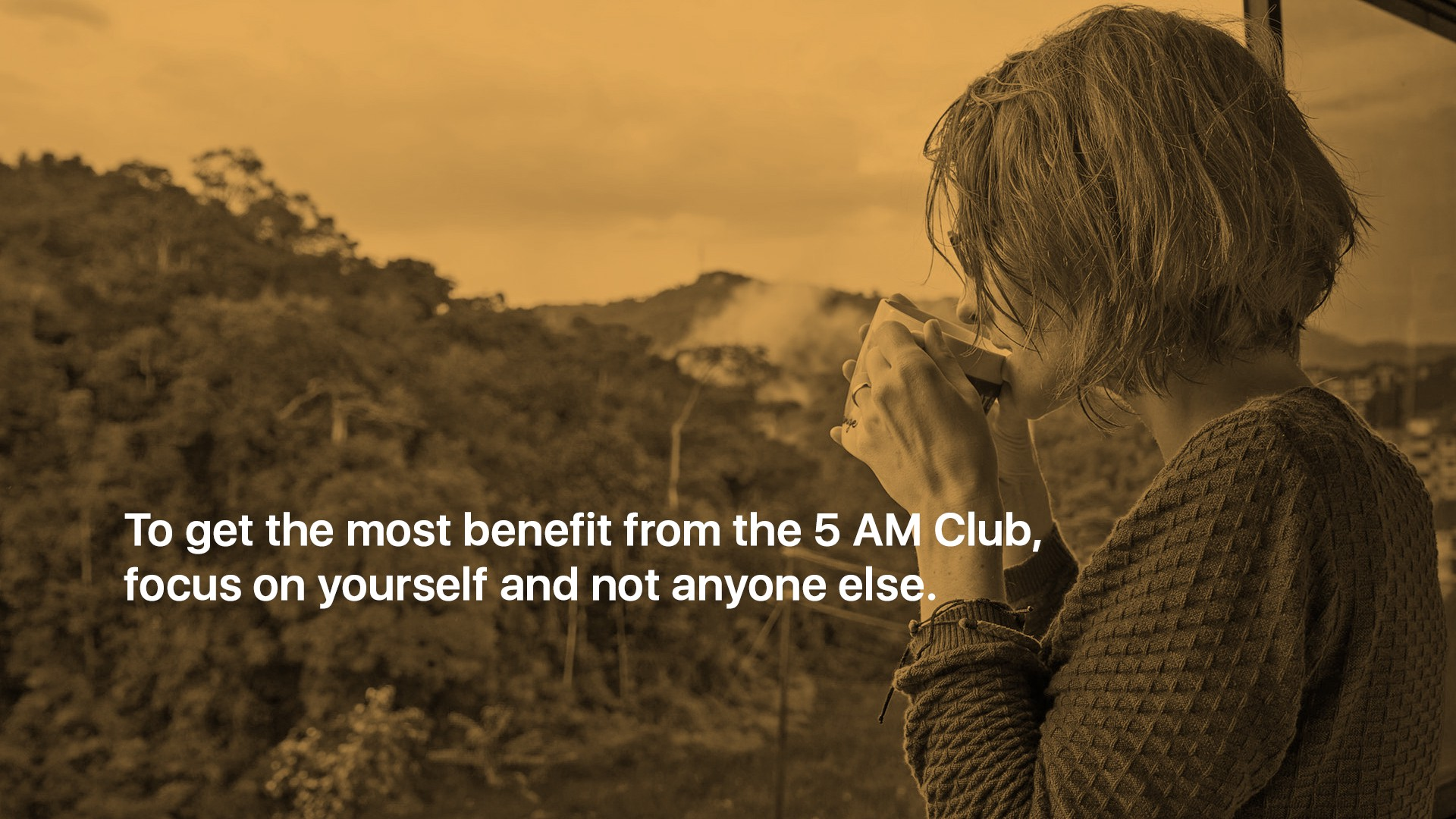 What it's like to be part of Robin Sharma's 5 AM Club