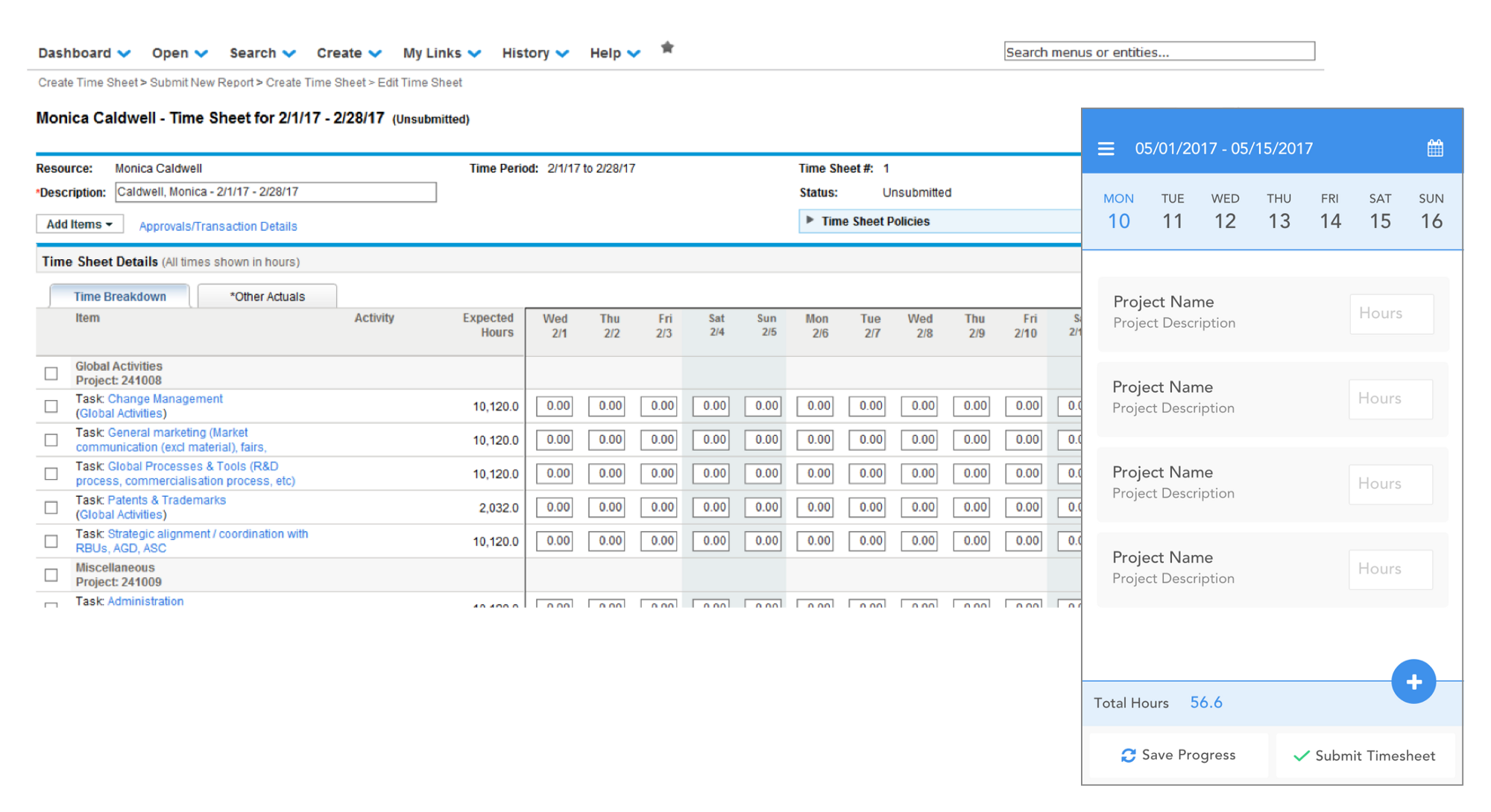 Designing a complex table for mobile consumption (nom)