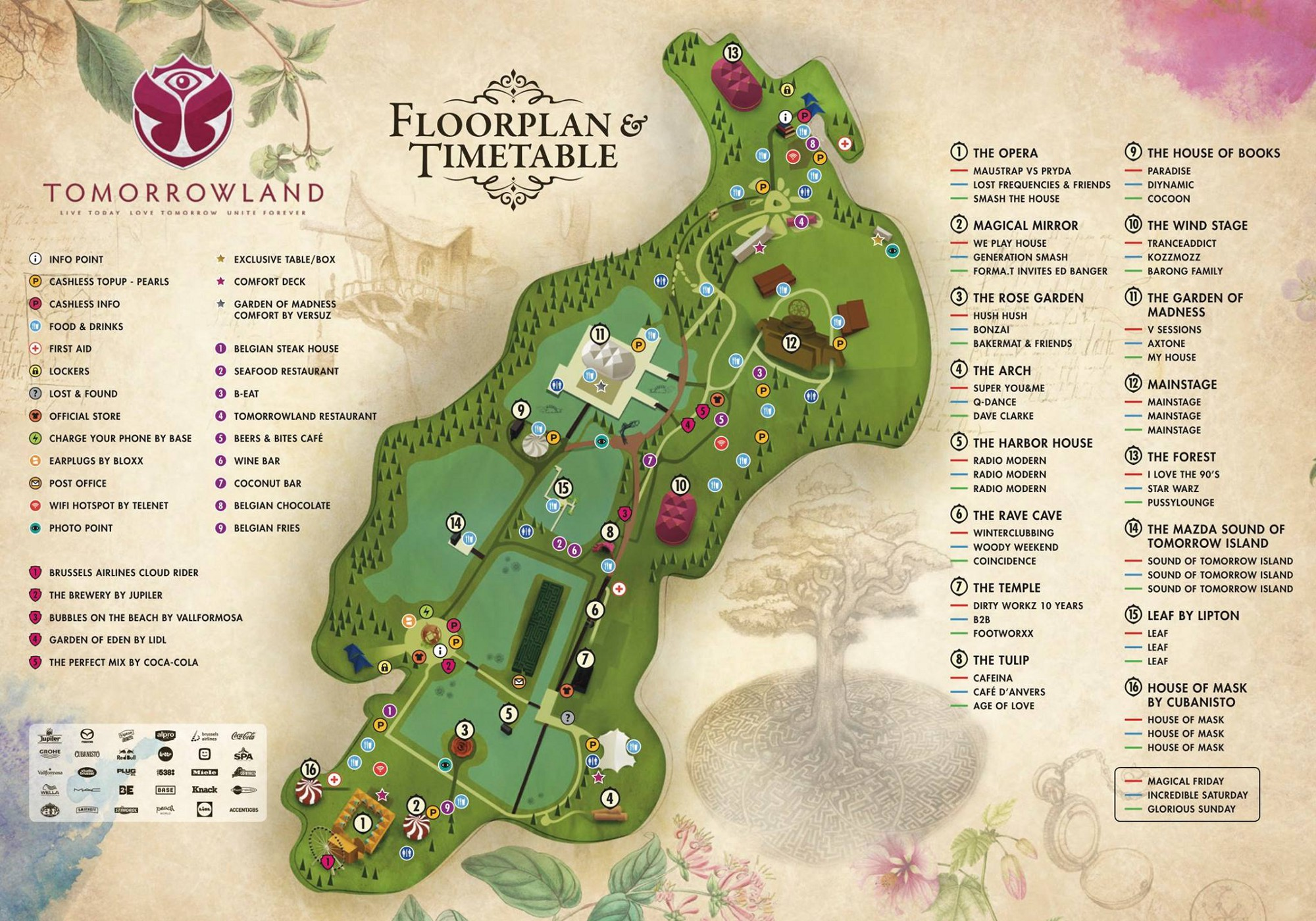 Tomorrowland 2016 - The Festival: A First Timer's Guide, From a
