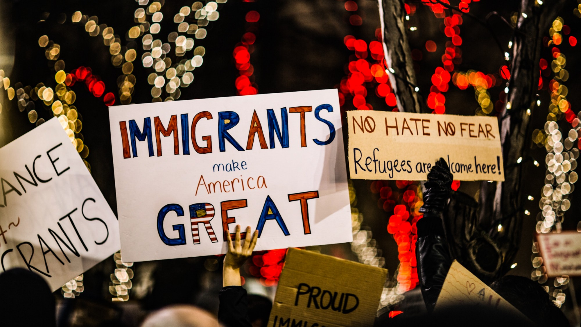 Cover photo: Immigrant Make America Great — Photo by Nitisha Meena, Unsplash