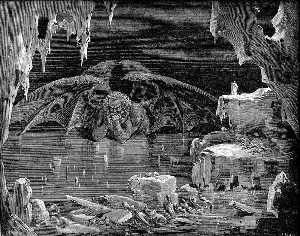 Lucifer in Hell
