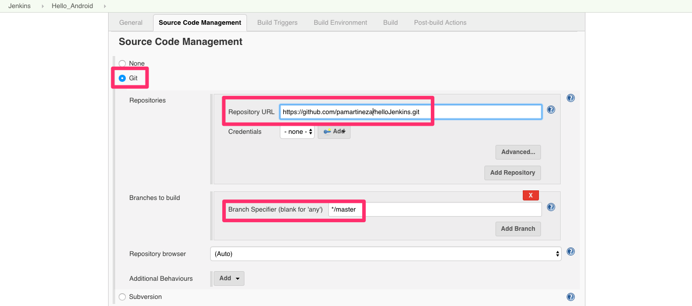 How to set up a Continuous Integration server for Android