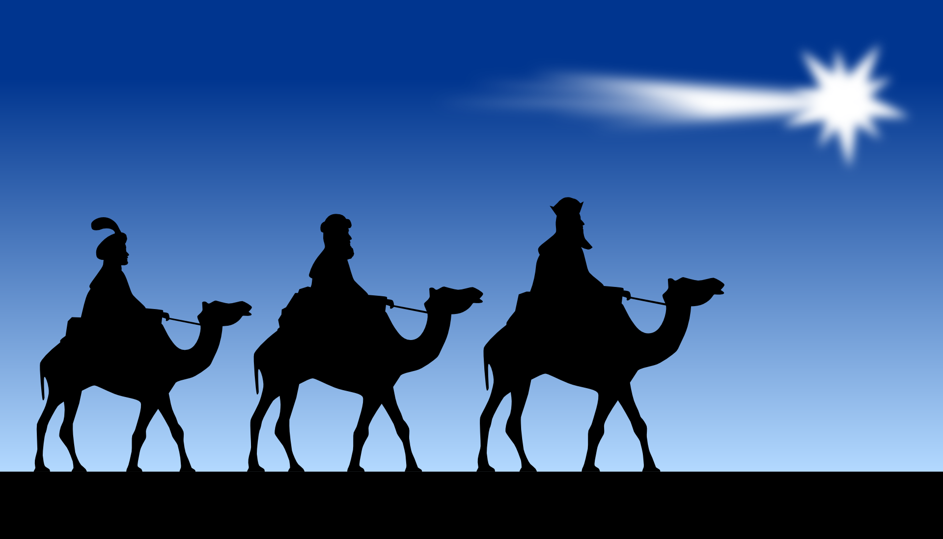 Does the Bible say that three wise men visited Jesus in a stable?