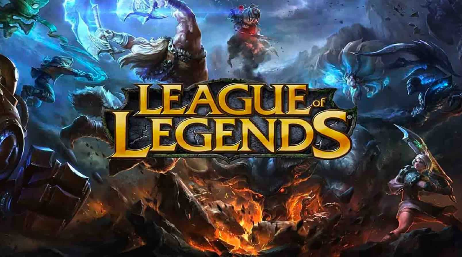League of Legends developed by Riot