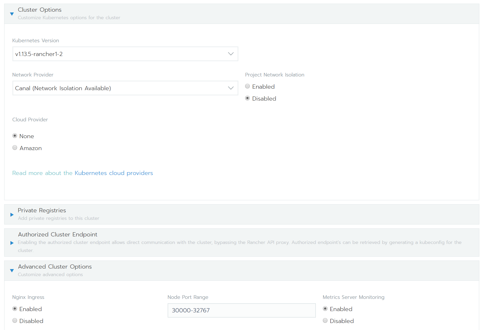 Deploy a Kubernetes Cluster with Cluster Monitoring in Amazon EC2