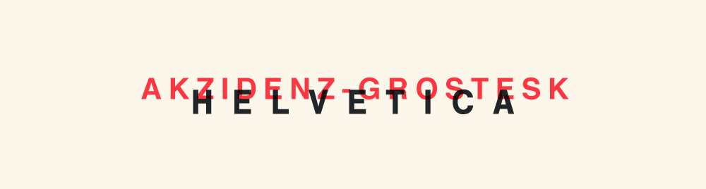 The Combination of Simplicity with Creativity: Helvetica