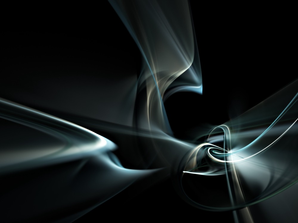 silver and bronze swirls and lines, tangles on black background.