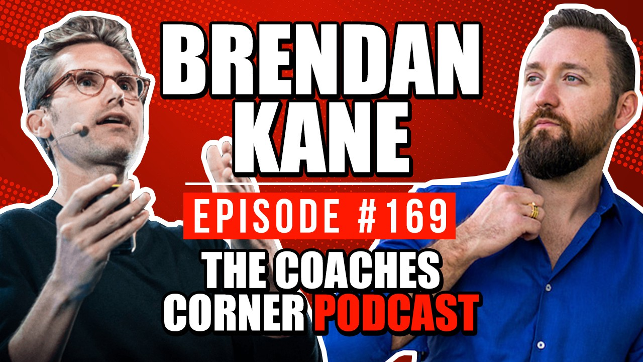 How To Stand Out In A 3 Second World With Brendan Kane with Lucas Rubix helping you build an online coaching business