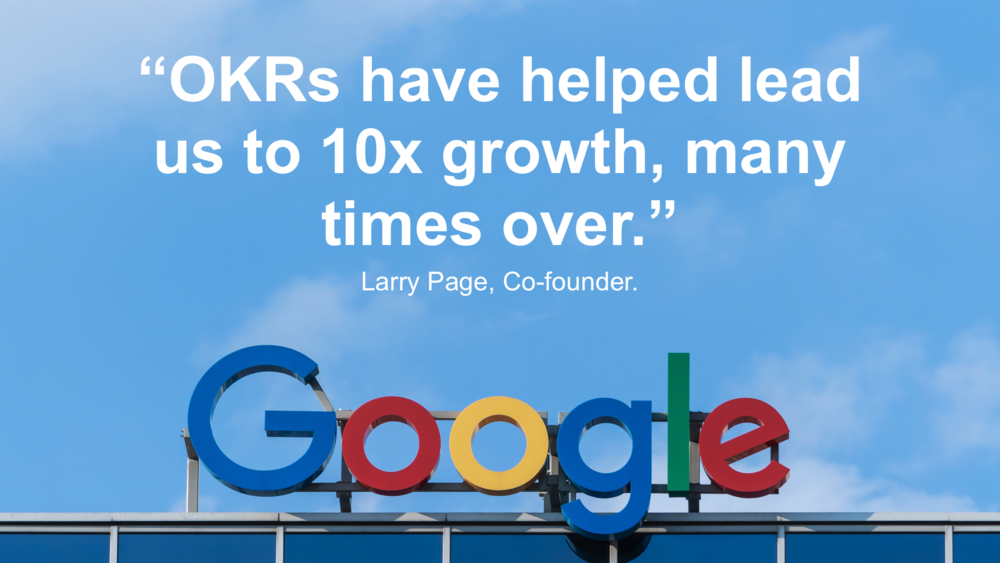 OKR Google objective key results