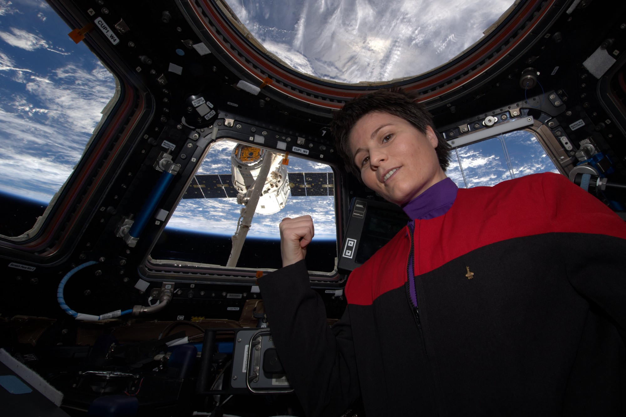 Is Samantha Cristoforetti the Most Awesome Astronaut Ever Backchannel Medium