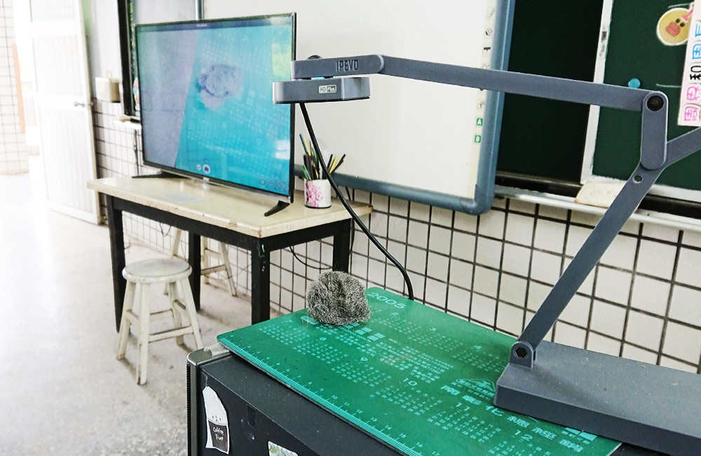 The Ziggi-HD Plus document camera's intuitive and lightweight design makes setup a breeze for teachers.