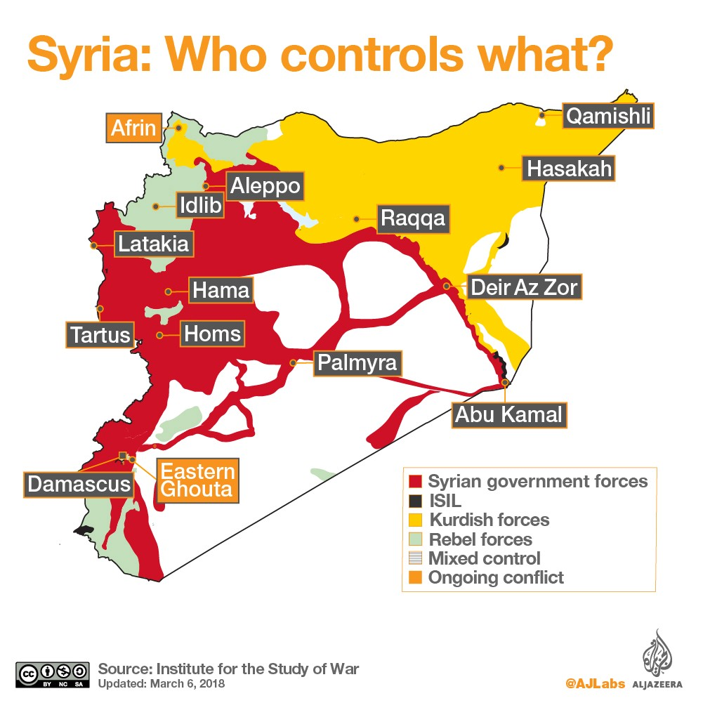 Seven Years of Syrian Civil War in Overview - Epoch Magazine