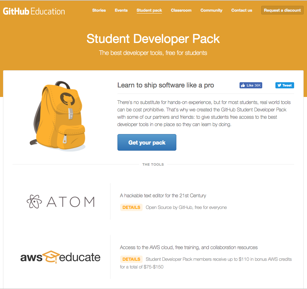 Get these free developer resources for students