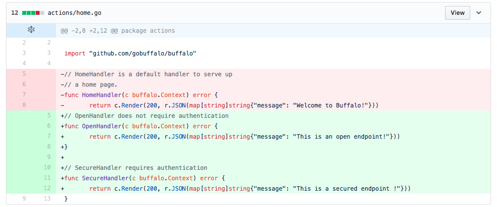 Integrate Firebase with Buffalo for API Authentication