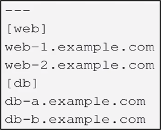 web and DB command