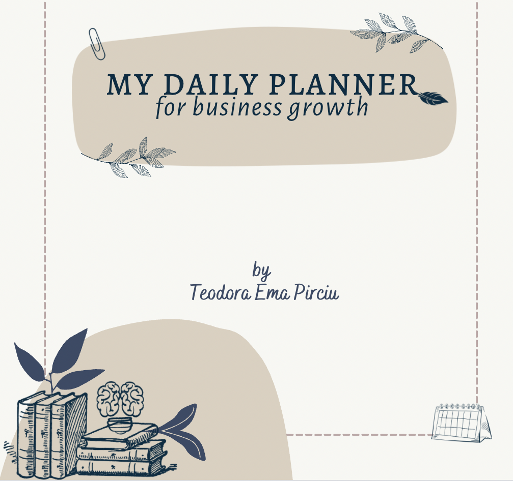 daily planner for business growth