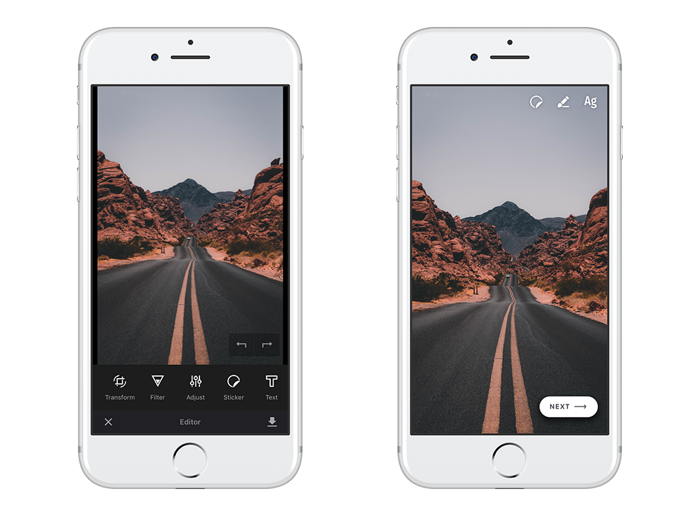 How to build Instagram's Story Editor in a Day - img ly