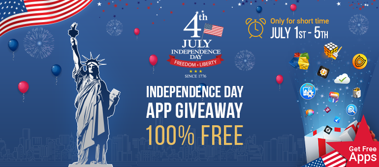 Systweak Celebrates 4th July Independence Day with Free App