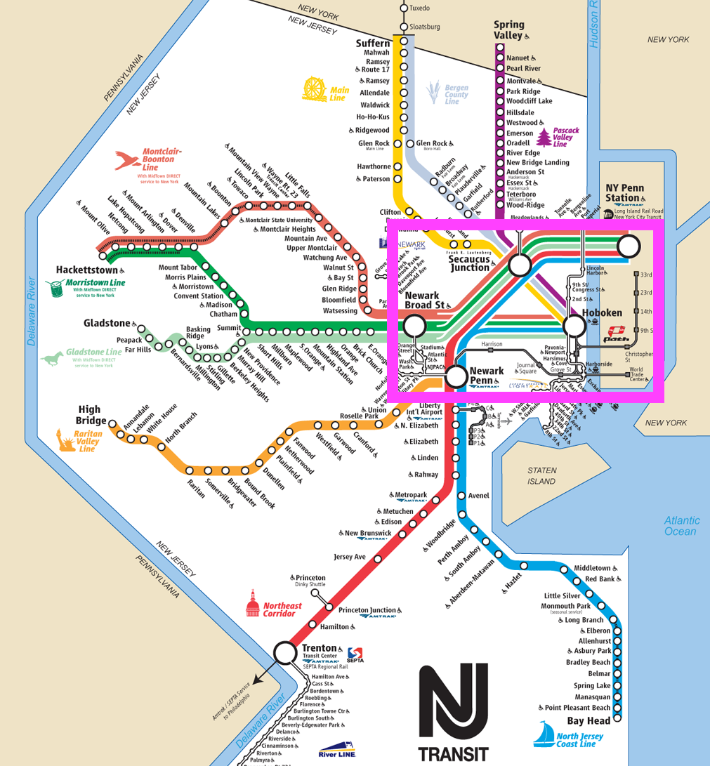The 5 Stages of a System Breakdown on NJ Transit - Towards