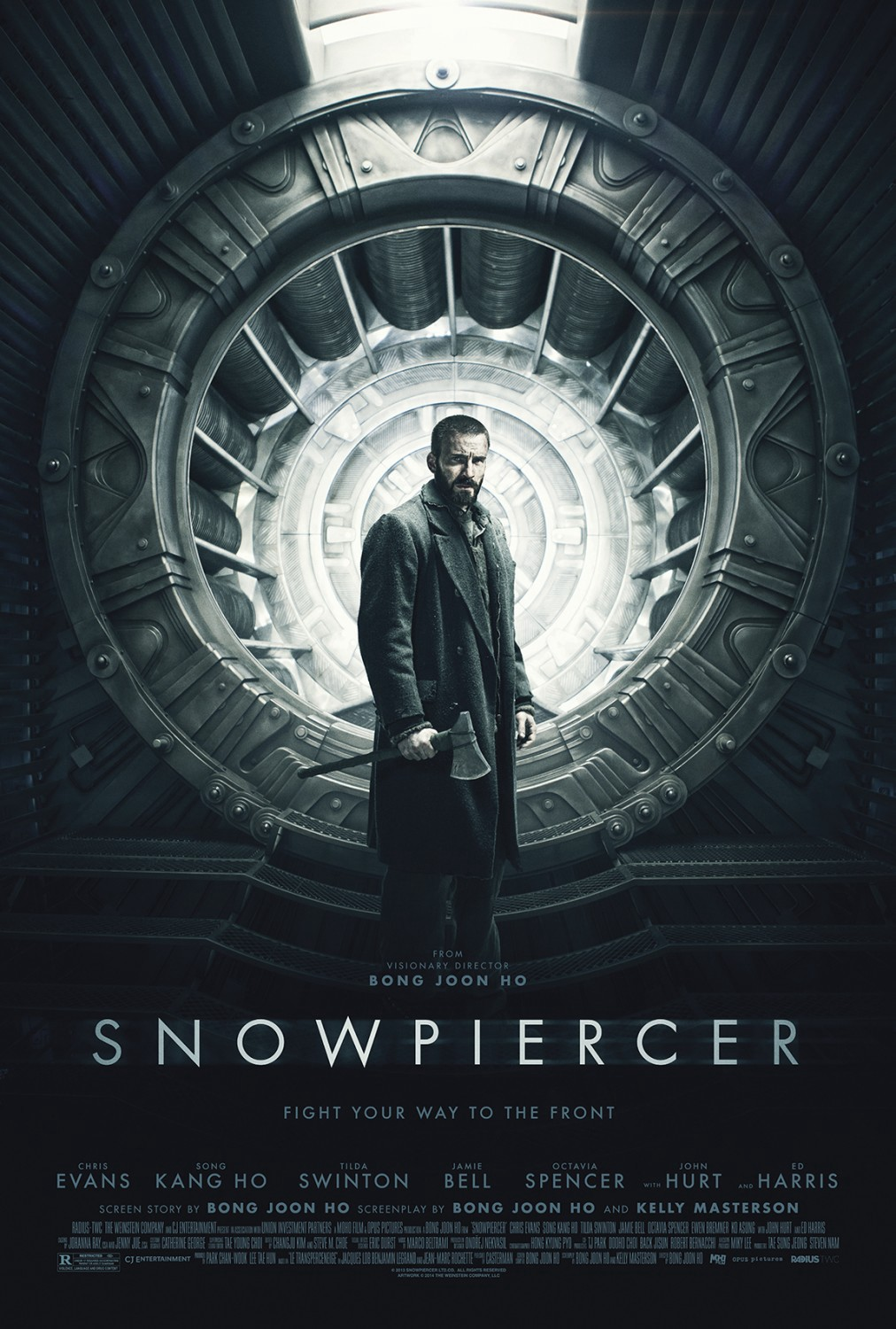 Movie Review: Snowpiercer (2013). Snowpiercer is a pretty exciting sci-fi…  | by Patrick J Mullen | As Vast as Space and as Timeless as Infinity |  Medium