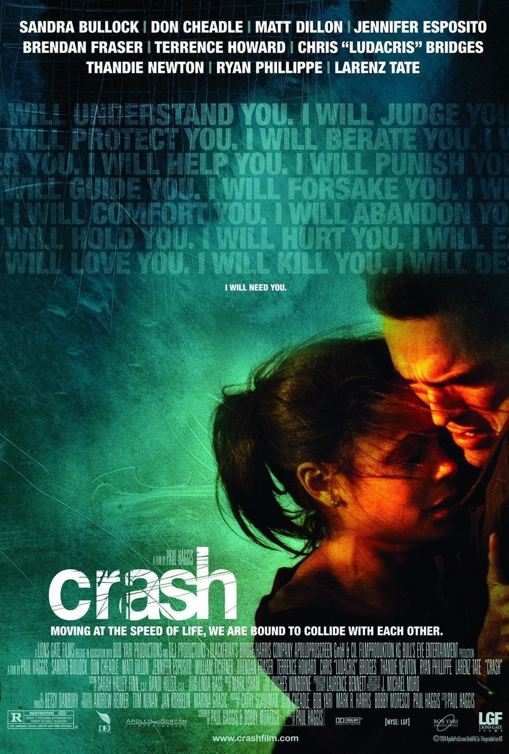 Poster for the movie Crash