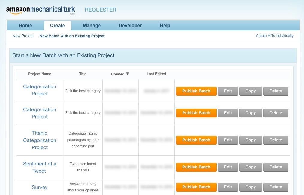 Tutorial: Using the MTurk SDKs together with the Requester