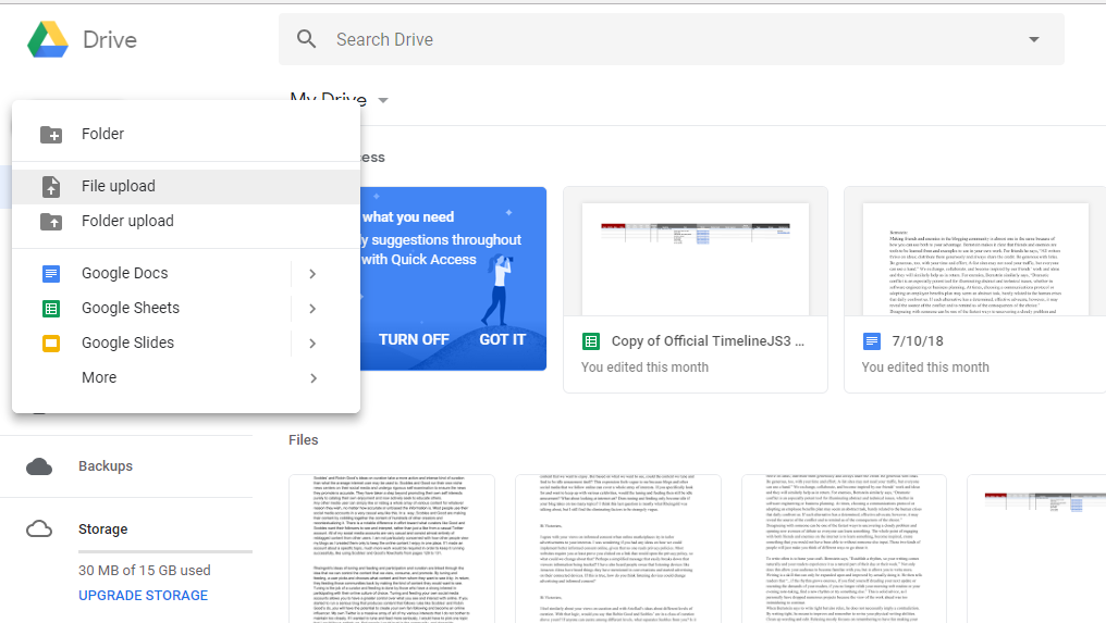 Save YouTube Video to Google Drive Tutorial - Tank, I Need a