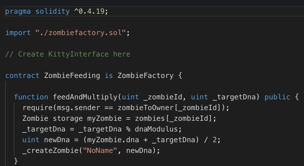 Solidity Fundamentals — CryptoZombies Lesson One and Two