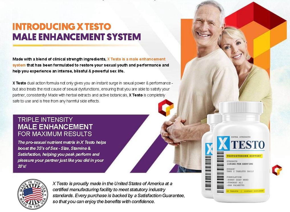 Xtesto Male Enhancement | Xtesto Male Enhancement Reviews | Where To Buy