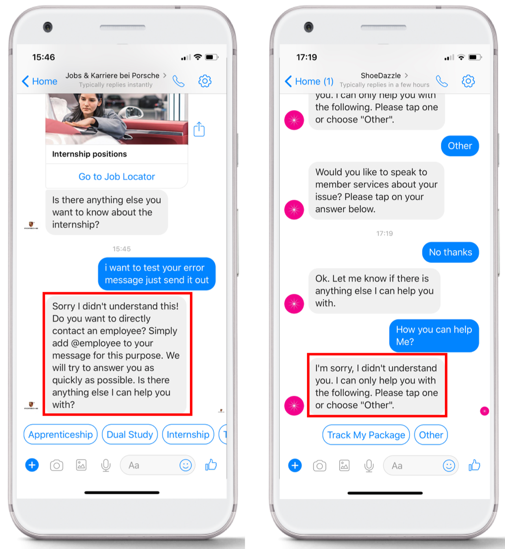 How To Write User-Friendly Error Messages - Chatbots Magazine