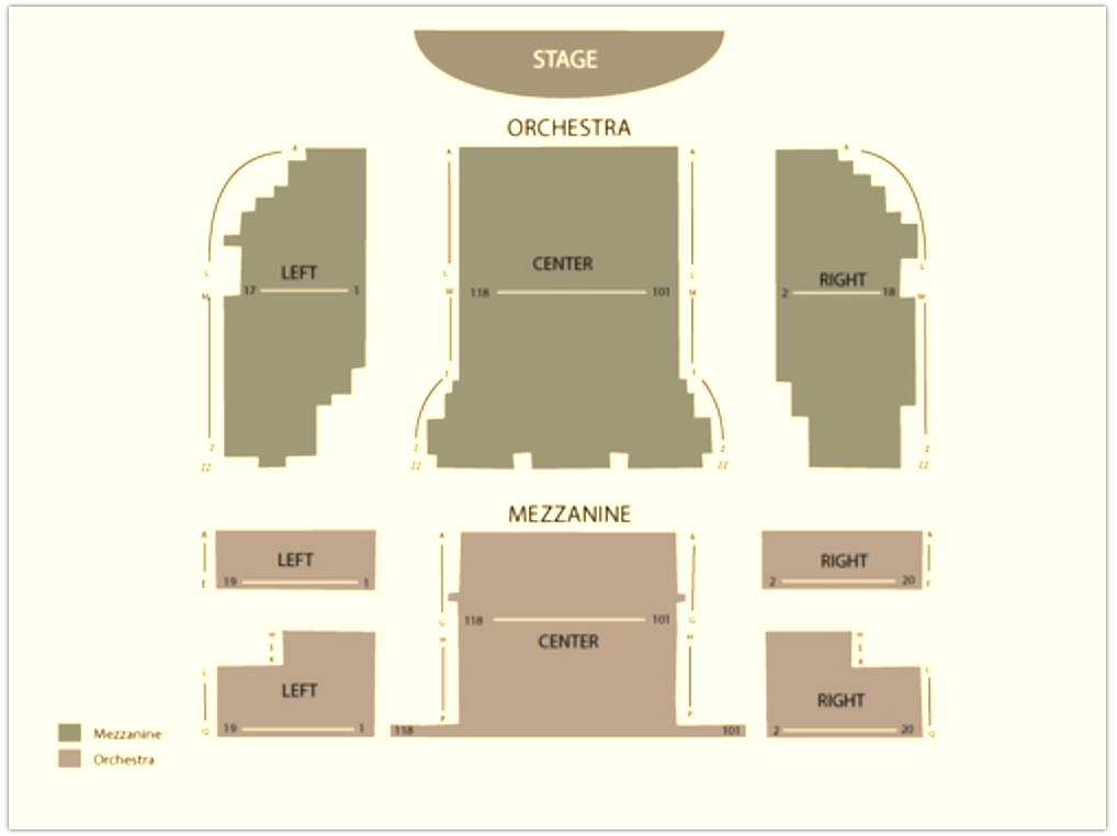 Mean Girls on Broadway Seating Chart — August Wilson Theatre