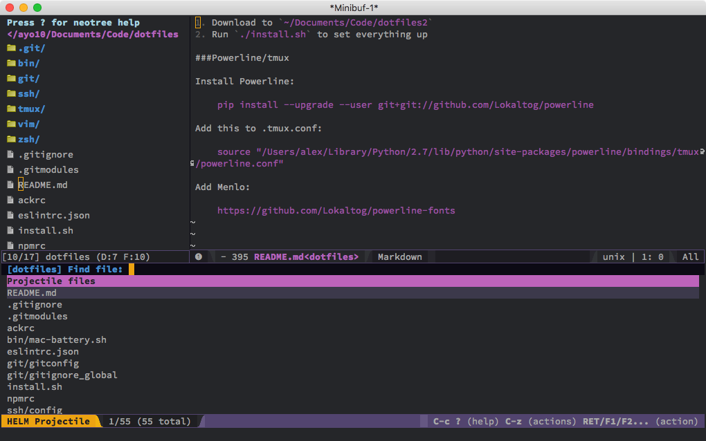 Spacemacs Review and Introduction for Vim Users - usevim