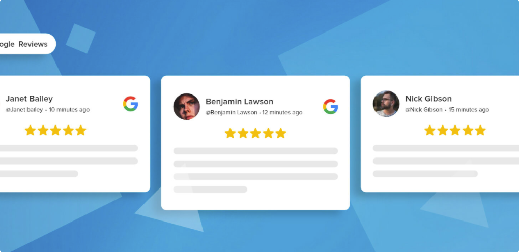 embed google reviews on website