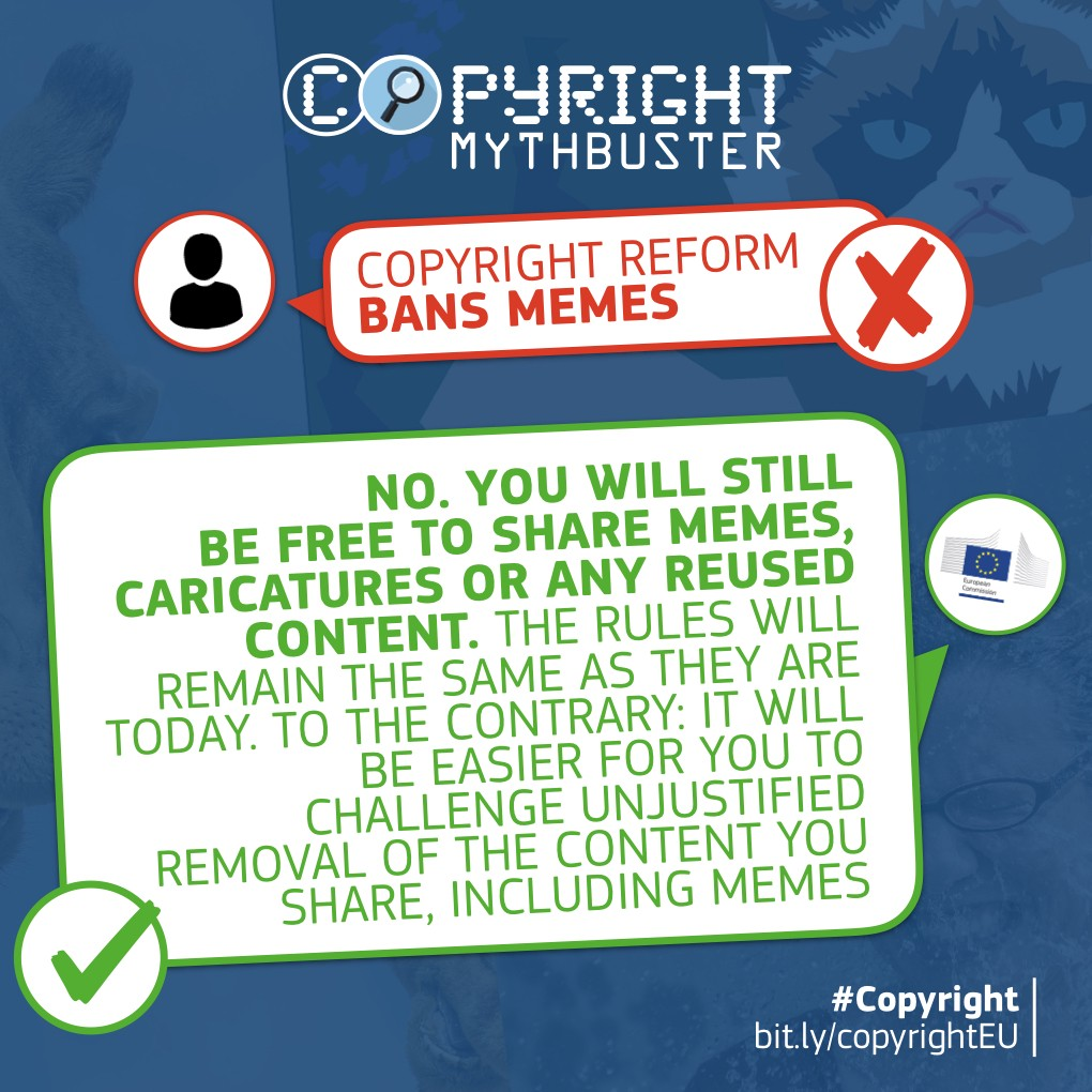 No No No We Are Not Banning Memes By European Commission Medium