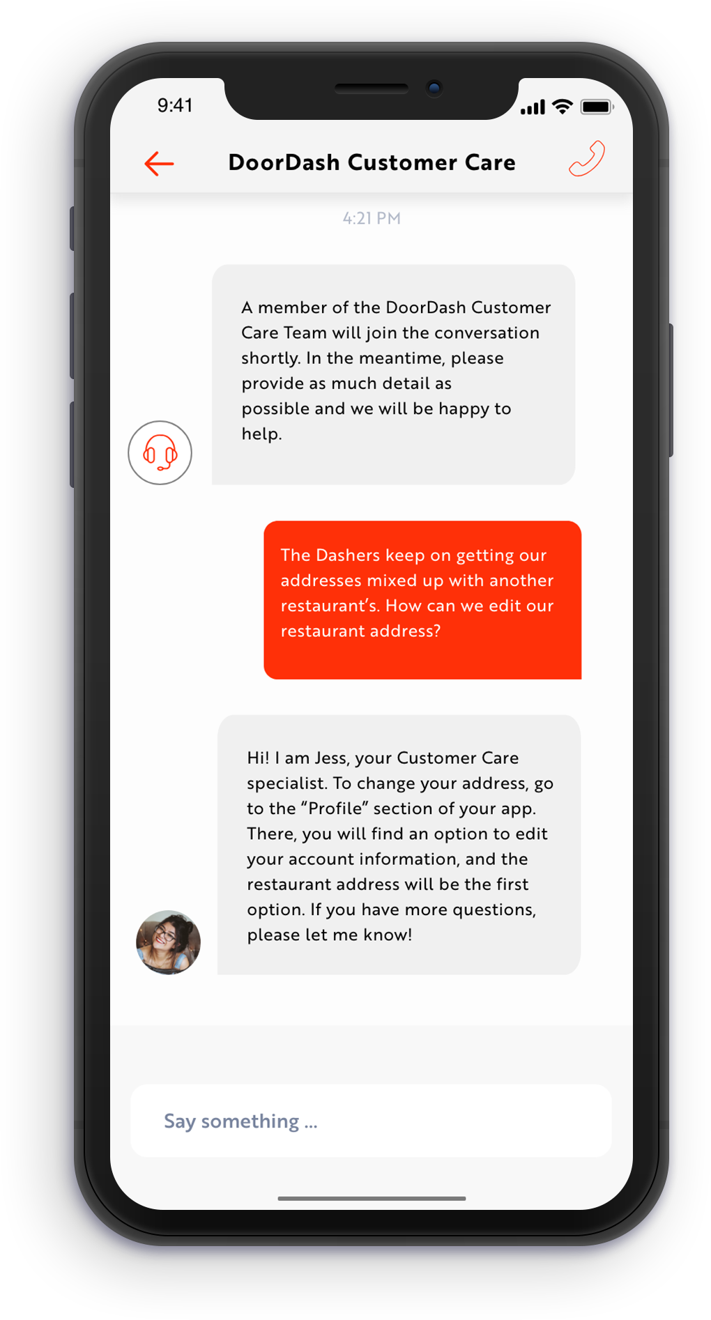 My DoorDash order manager redesign — a UX case study