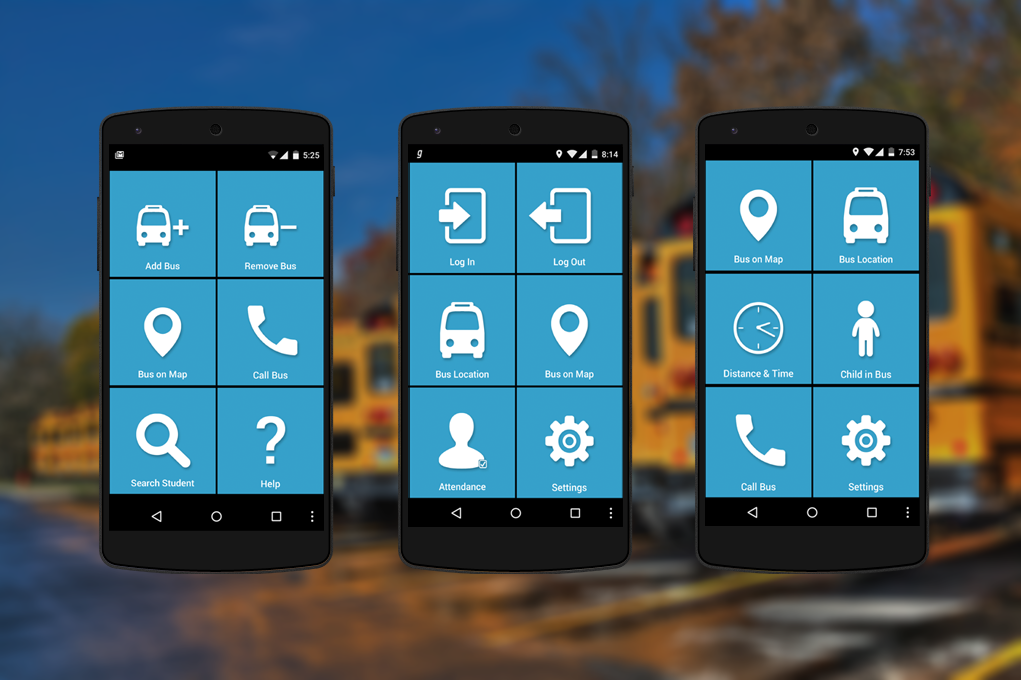 LOCATERA' — A Complete School Transport Management Mobile Phone 'Tri