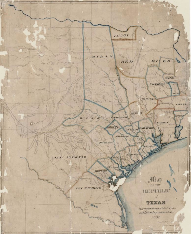 Map of the Republic of Texas shewing [sic] its division into ... Divided County Map Austin Tx on texas county map, austin suburbs map, charleston county sc map, texas hwy map, austin msa map, corpus christi county map, austin counties, austin flooding, memphi az zip code map, travis county map, allegheny county pa zip code map, el paso county district map, austin texas, austin-area county map, austin co map, austin neighborhood map, austin tx floodplain map, austin county lines, austin metro map, austin indiana,