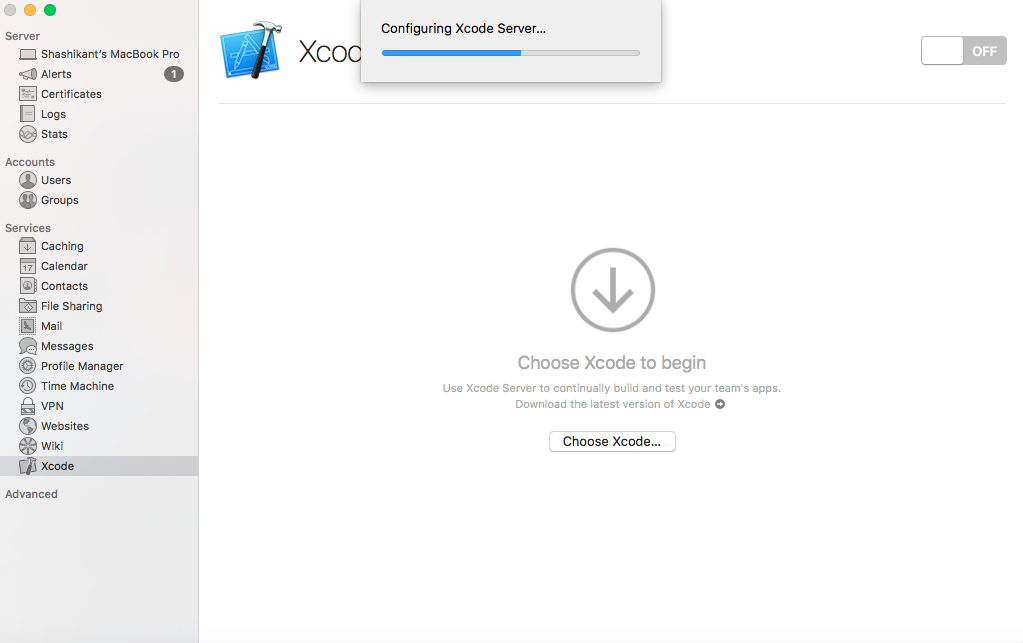 Beginers Guide to iOS Continuous Integration with Xcode Server