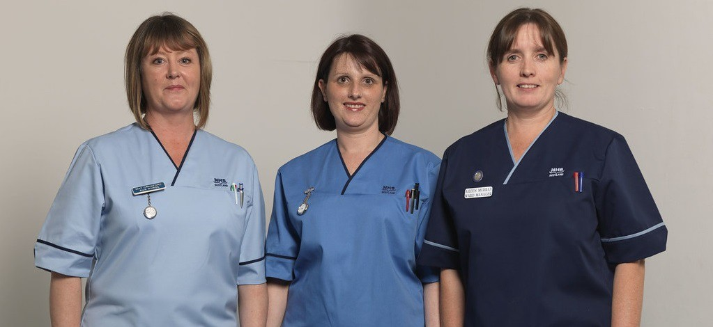 Female NHS nurses