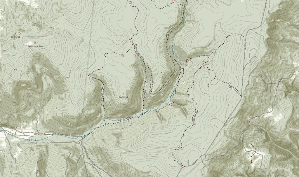 Traditional trail design with AllTrails - Points of interest