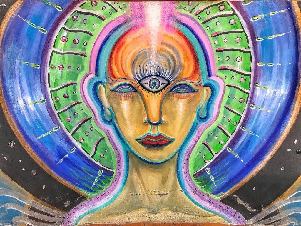 Third eye painting