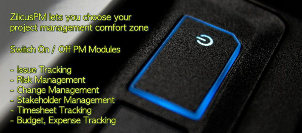 Project Management Modules ZilicusPM - Tracking KPIs for Project Manager