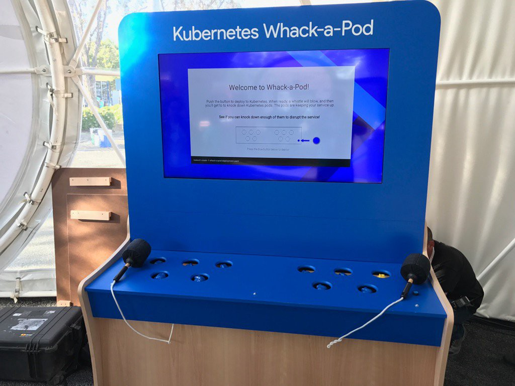 Whack-a-pod: The Kubernetes cluster whack-a-mole game